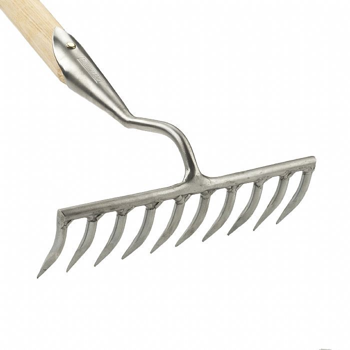 Грабли садовые узкие 10 зубцов Sneeboer