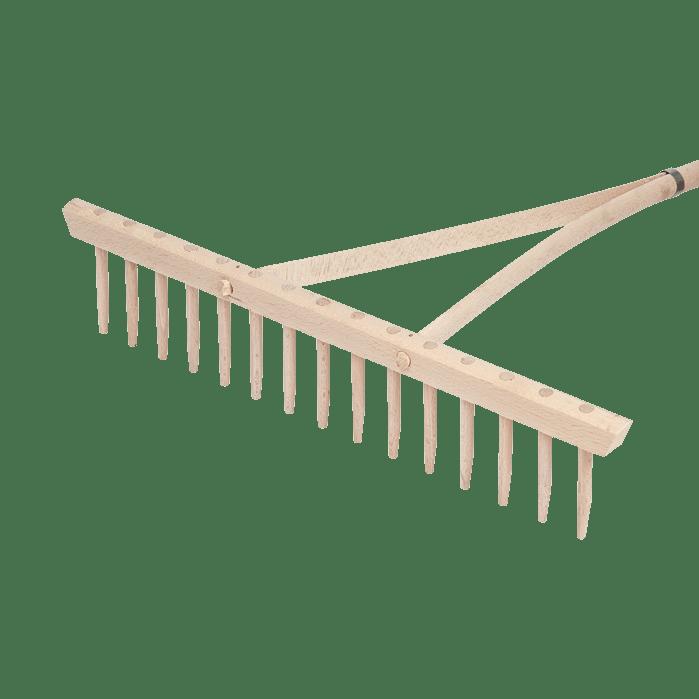 Грабли деревянные Idealspaten